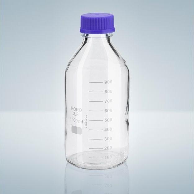 Láhev s GL uzávěrem, BORO-3.3, čirá, 5000 ml