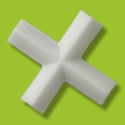 PTFE magnetické míchadlo, křížový hranol, 10×5 mm