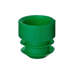 Lamelový uzávěr 16 mm (1000 ks) - zelený