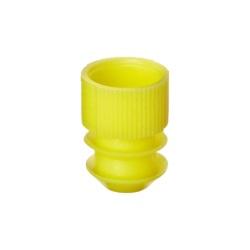 Lamelový uzávěr 12 mm (1000 ks) - žlutý