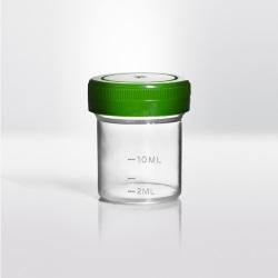 Nádobky PP se zeleným víčkem - STERILE|EO