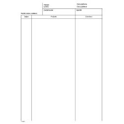Zápis o ošetření - vložka do zdrav.záznamu (karta)