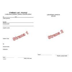 Výměnný list / poukaz
