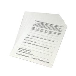 Posudek k řízení motorových vozidel (Karta k ŘP)