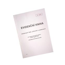 Evidenční kniha návykových látek pro ZZ a ZSP