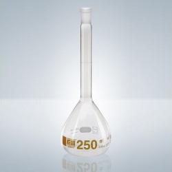 Odměrná baňka A, DURAN/H NZ-7/16+UZ-PE, 5 ml