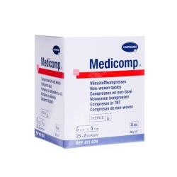 Medicomp sterilní, 5 x 5 cm (bal 25 x 2 ks)