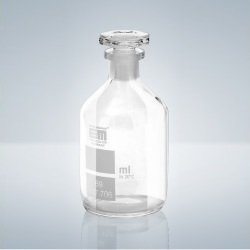 Kyslíková lahev podle Winklera, čirá, 100-150 ml