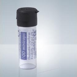 Kapiláry bez heparinu, 20 µl, (100 ks)
