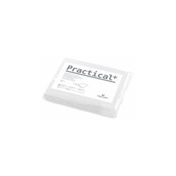 Prostěradla Practical, 77×210, 80 ks - bílá