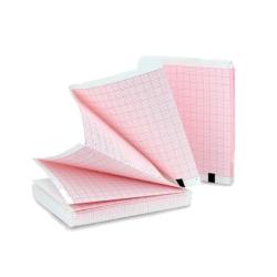 EKG papír 126 mm × 150 mm × 170 listů (skládaný)