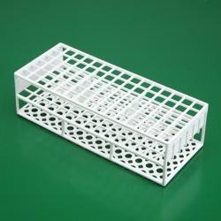 Stojánek bílý pro 90 zkumavek do průměru 13 mm