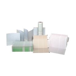 EKG papír 106 mm × 140 mm × 200 listů (skládaný)