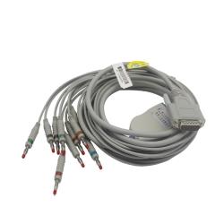 EKG kabel (ED) vcelku, 10 svodů