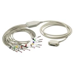EKG kabel K117B01 - banánky