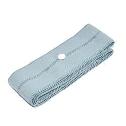 KTG / fetální pás (6×140 cm, šedý, knoflíkový)