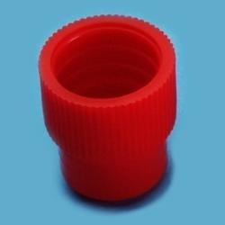 Tlakový uzávěr 16 mm (1000 ks) - červený