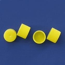 Šroubovací uzávěr 13 mm (1000 ks) - žlutý