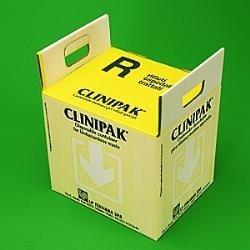 Papírový kontejner s autoklávovatelným sáčkem 40 l