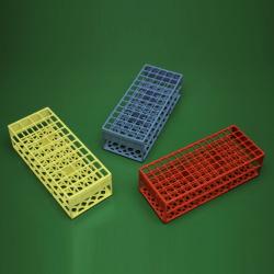 Autokláv. stojánek, zelený (60 zkumavek <17 mm)
