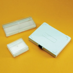 Kazeta na mikroskopická skla (50 pozic)
