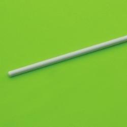 PTFE míchací tyčinka, zakulacená, 6×250 mm