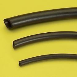 Hadička z černého NEOPRENU 4×6 mm, 10 metrů