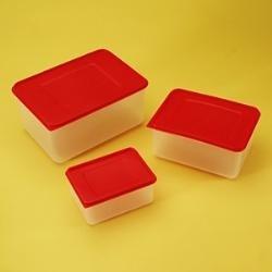 Krabice PP do mrazicích boxů (sada 3 ks)
