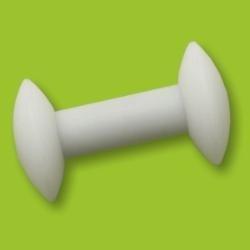 PTFE magnetické míchadlo, cívka, 35×8 mm