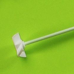 PTFE míchací hřídel (6×400 mm) s křížem: 40 mm