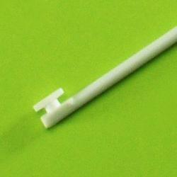 PTFE míchací hřídel bez koncovky, 6×400 mm